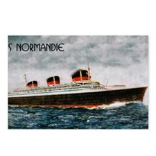 SS Normandie Postcards (Package of 8)