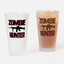 Shoot Zombies Drinking Glass