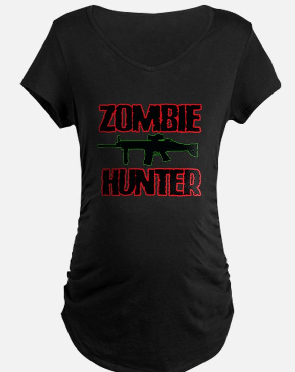 Shoot Zombies Maternity T-Shirt