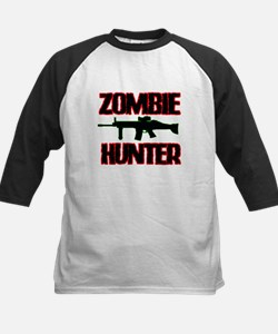 Shoot Zombies Baseball Jersey