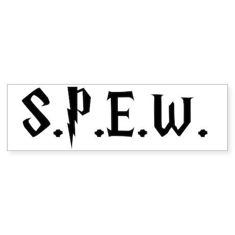 SPEW Sticker (Bumper)