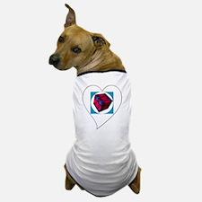 I Love You Cubed Dog T-Shirt