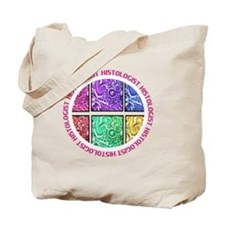 HISTOLOGIST CIRCLE 4 PINK Tote Bag