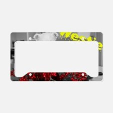 Westie Art Cover License Plate Holder