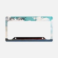 RMS Titanic License Plate Holder