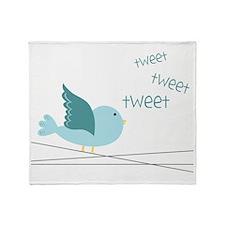 Bird Throw Blanket