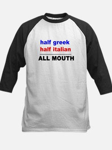 HALF GREEK/ITALIAN-ALL MOUTH Tee