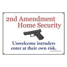 2nd Amendment Home Security Banner