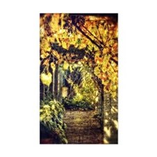 Soft garden arbor Decal