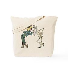 Oz Scarecrow and Tin Woodman Tote Bag