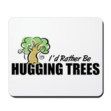 Hugging Trees Mousepad