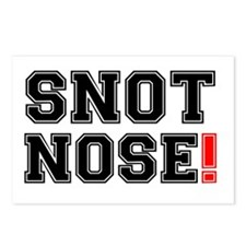 SNOT NOSE! Postcards (Package of 8)