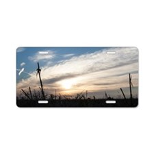 Morning Breaks Aluminum License Plate