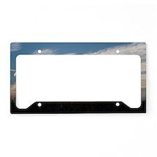 Morning Breaks License Plate Holder