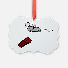 Mouse Trap Ornament