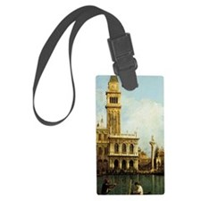 Canaletto The Pier Luggage Tag