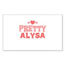 Alysa Rectangle Decal