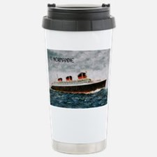 SS Normandie Travel Mug
