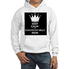 Keep Calm and Scratch my Belly M Hoodie