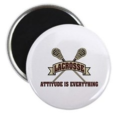 Lacrosse Attitude Is Everything Magnet