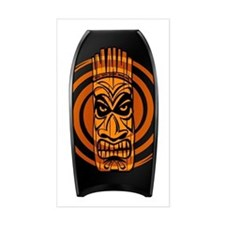 Orange Tiki Bodyboarding Decal