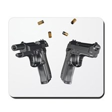 9mm handguns Mousepad