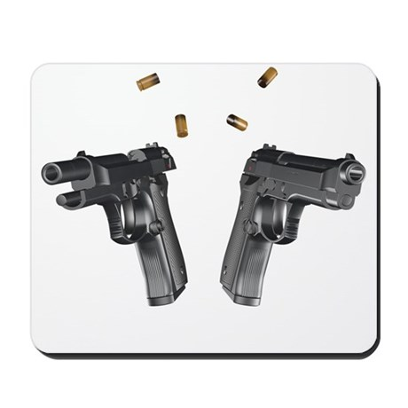 9mm handguns Mousepad