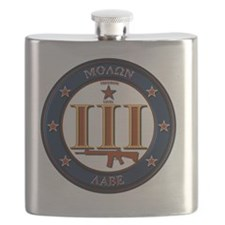 Come and Take It! (Blue and Orange) Flask