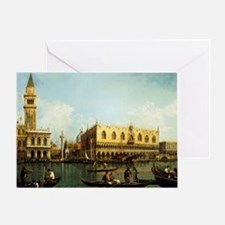 Canaletto The Pier Greeting Card