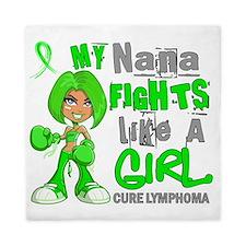 D Nana Fights Like Girl Lymphoma 42.9 Queen Duvet