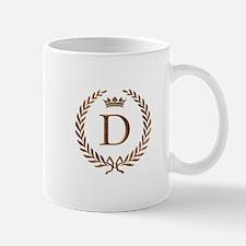 Napoleon initial letter D monogram Mug