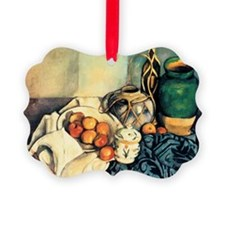 Paul Cezanne Still Life With Appl Ornament