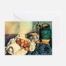 Paul Cezanne Still Life With Apples Greeting Card