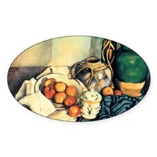Paul Cezanne Still Life With Apples Decal