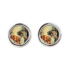 Paul Cezanne Still Life With Apples Cufflinks