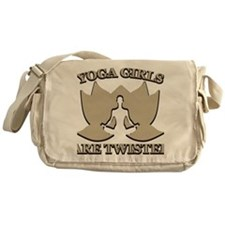 Witty Yoga Messenger Bag
