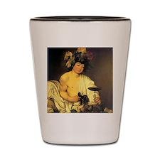 Caravaggio The Young Bacchus Shot Glass