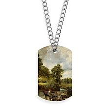John Constable Hay Wain Dog Tags