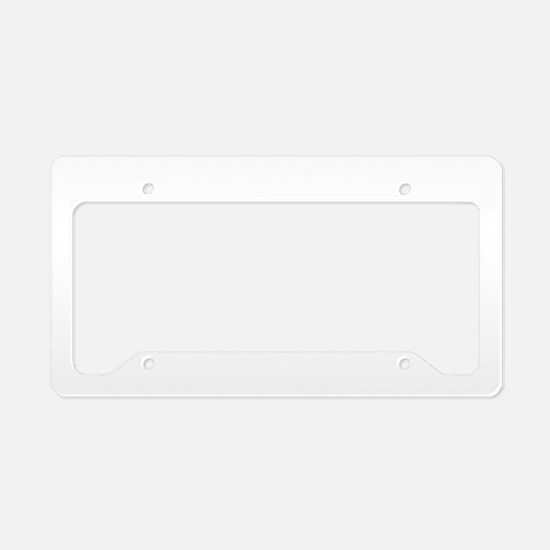 fartFirstDate1B License Plate Holder