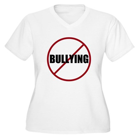 Women's Plus Size - Say No To Bullying.