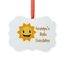 Grandpas Little sunshine Ornament