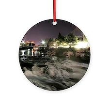 Spokane Falls 1 Round Ornament
