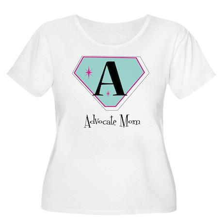 ADVOCATE MOM Plus Size T-Shirt