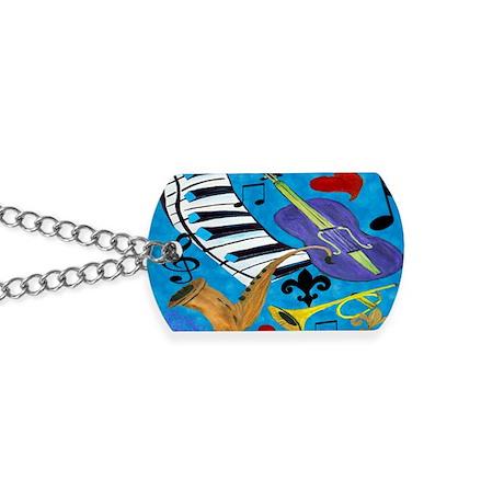 jazz Dog Tags