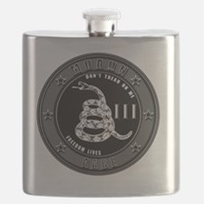 Dont Tread On Me! Flask
