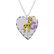 G Is For Giraffe Necklace