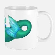 Green Mermaid - Mug