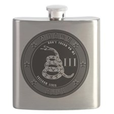 Don't Tread On Me! Flask