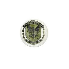 Green Allied Thorn Busch 2013 Mini Button