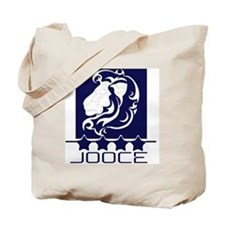 Jooce Casual Navy (back) Tote Bag